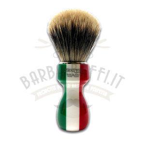 Pennello Barba Manico Resina Italia Ciuffo Manchurian Zenith 507I PP21