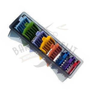 Set 8 Alzi Colorati per Tagliacapelli Universale Xan.