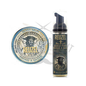 Kit Reuzel Beard Foarm 70 ml + Beard Balm 35 g