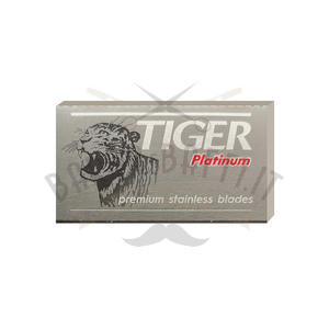 Lametta da Barba Tiger Platinum 1 Pc da 5 Lame