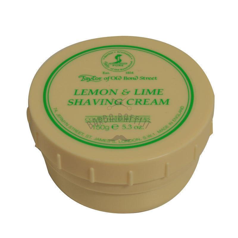 Taylors Crema da barba Ciotola 150 ml Lemon e Lime