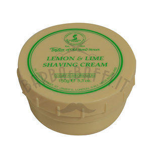 Crema da Barba Lemon e Lime Taylor ciotola 150 ml.