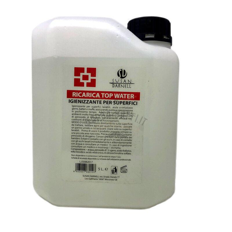 Igienizzante per Superfici Top Water SD Tanica 5 Lt
