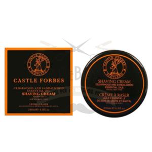 Sapone da Barba Cedro e Sandalo Castle Forbes 200 ml