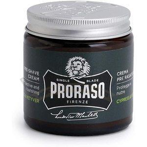 Crema Pre Barba Cypress Vetiver Proraso 100 ml.