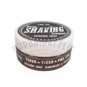 Sapone da Barba Shaving Soap Nordic Shaving Company Pine Tar 40 g