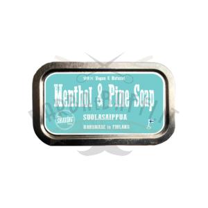 Saponetta da Bagno Bath Soap Nordic Company Menthol e Pine 82 g