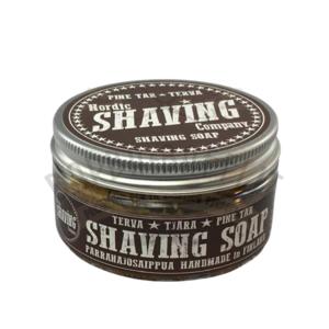 Sapone da Barba Shaving Soap Nordic Shaving Company Pine Tar 80 g