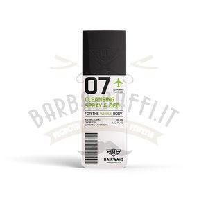 Cleansing Spray e Deo Hairways 07 100 ml