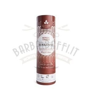 Deodorante in Stick Nordic Timber Ben e Anna 60 g