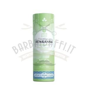 Deodorante in Stick Lemon e Lime Ben e Anna 60 g