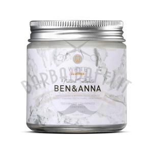 Dentifricio White con Fluoro Ben e Anna Vaso 100 ml