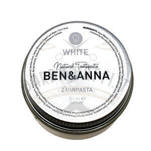 Dentifricio White Ben e Anna Vaso 30 ml