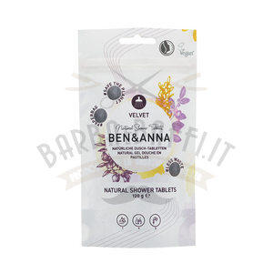 Natural Shower Velvet in Pastiglie Ben e Anna 120 g