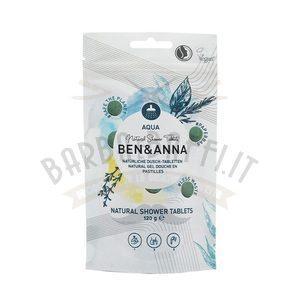 Natural Shower Aqua in Pastiglie Ben e Anna 120 g