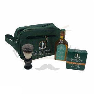 Shave Set Essential Cognac Neat Clubman 40456