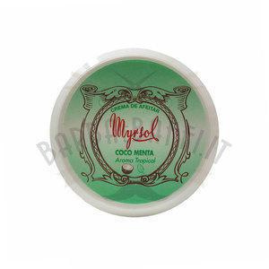 Crema da Barba Coco Menta Myrsol 150 ml