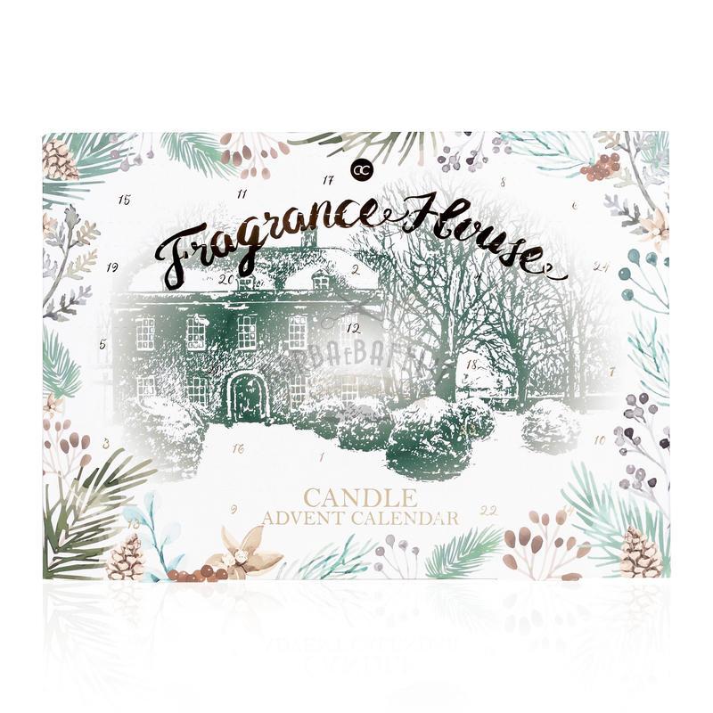 Calendario Avvento Fragrance House con Candele Profumate