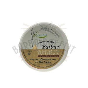 Sapone da Barba Latte di Asina Pera Cioccolato Le Pere Lucien 100 gr