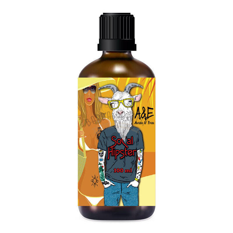 After Shave Socal Hipster Ariana e Evans 100 ml