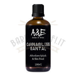 After Shave Cannablis Santal Ariana e Evans 100 ml