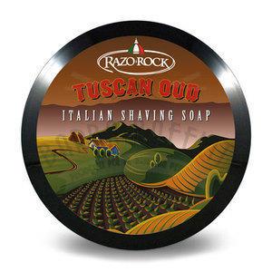 Crema da Barba Tuscan Oud Razorock 150 ml.