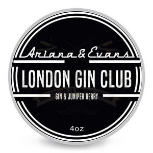Sapone da barba London Gin Club Ariana e Evans 118 ml