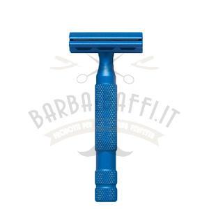 Rasoio di Sicurezza Classic RR 6S Blue Satinato Rockwell Razors