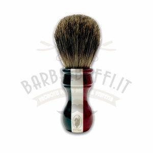 Pennello da Barba Tricolore Misto Tasso Maiale Extro