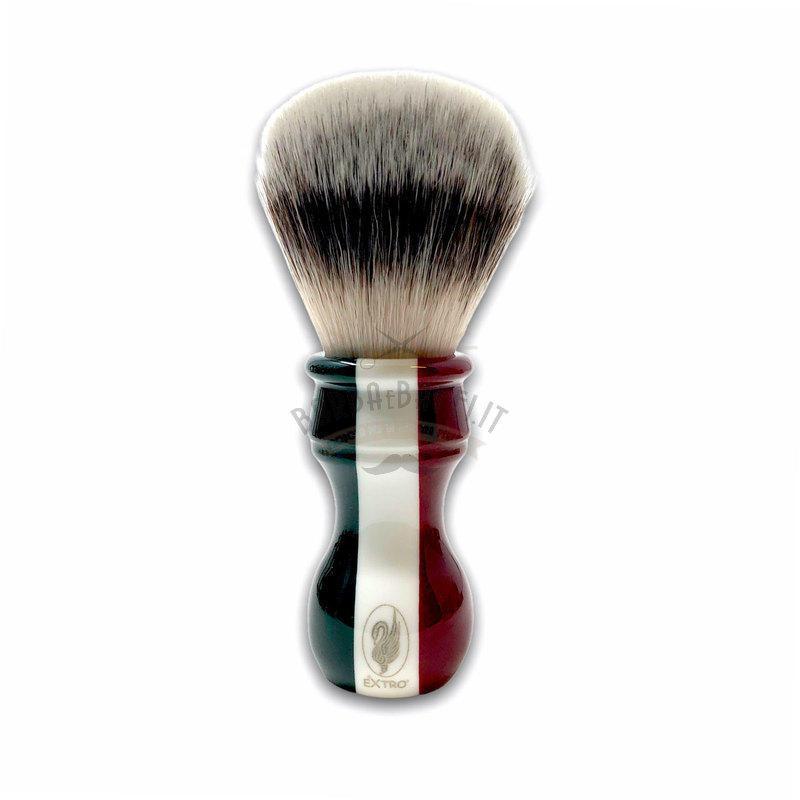 Pennello da Barba Tricolore Sintetico Medium Soft Extro