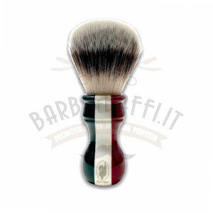 Pennello da Barba Tricolore Sintetico Medium Soft Extro