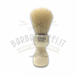 Pennello Barba Manico Avorio Ciuffo Setola Sbiancata Zenith 507A PP21