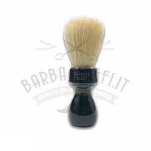 Pennello Barba Manico Nero Ciuffo Setola Sbiancata Zenith 507N PP21