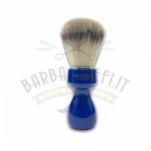 Pennello Barba Manico Blu Genziana Ciuffo Syntetic Zenith 507BG PP21