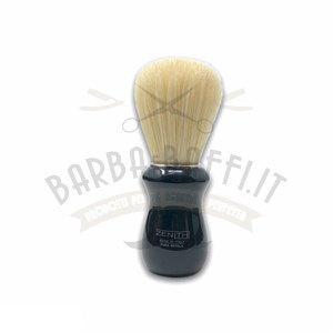 Pennello Barba Manico Nero Ciuffo Setola Sbiancata Zenith 502N PP21