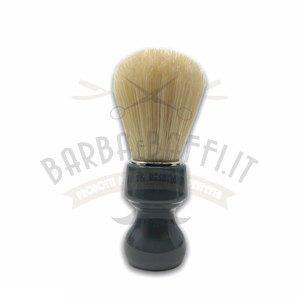 Pennello Barba Manico Grigio Fumo Setola Sbiancata Zenith 506GF PP21