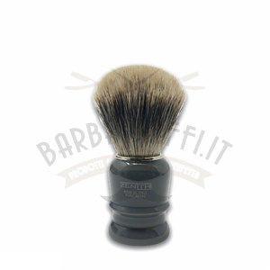Pennello Barba Manico Grigio Fumo Ciuffo Manchurian Zenith 508GF PP21