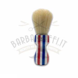 Pennello Barba Manico Barber Pole Ciuffo Pure Bristle Zenith 507BP PP21