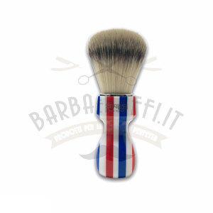 Pennello Barba Manico Barber Pole Ciuffo Synt Zenith 507BP PP21