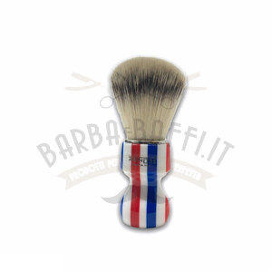 Pennello Barba Manico Barber Pole Ciuffo Synt Zenith 506BP PP21