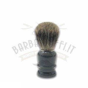 Pennello Barba Manico Grigio Fumo Ciuffo Best Badger Zenith 508GF PP21