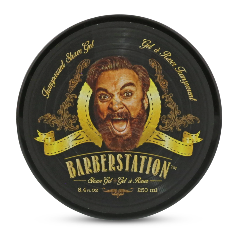 Gel Trasparente Rasatura Shave Gel The Barberstation 250 ml