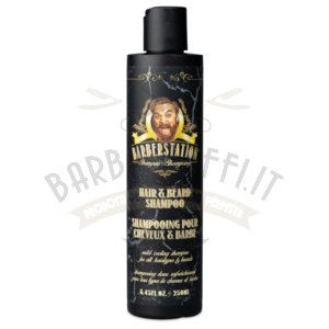 Shampoo Barba e Capelli Hair e Beard Shampoo The Barberstation 250 ml