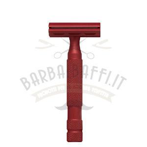 Rasoio di Sicurezza Classic RR 6S Red Satinato Rockwell Razors