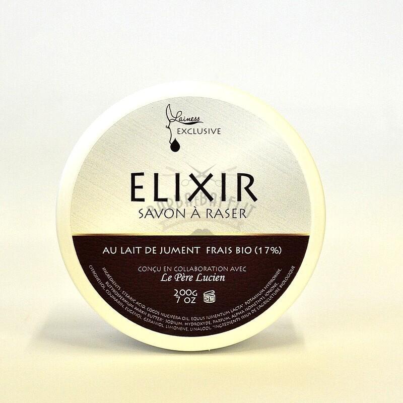 Sapone da Barba Latte di Giumenta Elixir Lainesse Le Pere Lucien 200 gr