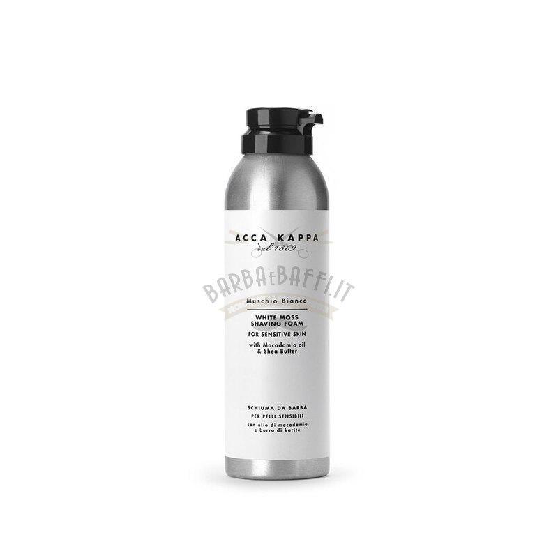 Schiuma da Barba Muschio Bianco Acca Kappa 200 ml